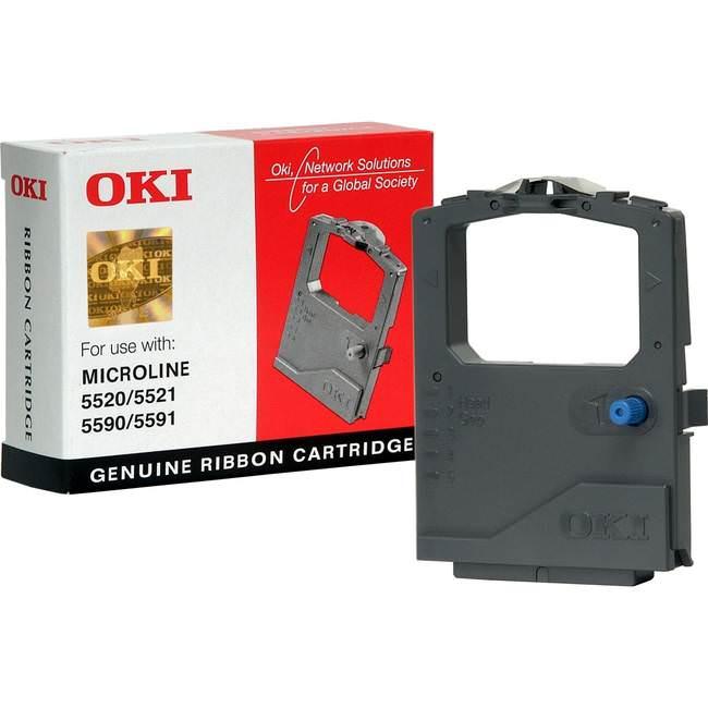 Original Oki 01126301 Black Microline Fabric Cassette (ok01126301)