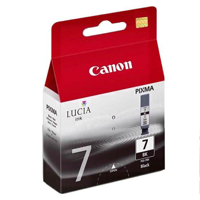 Original Canon Pgi-7bk Black Ink Cartridges (2444b001)