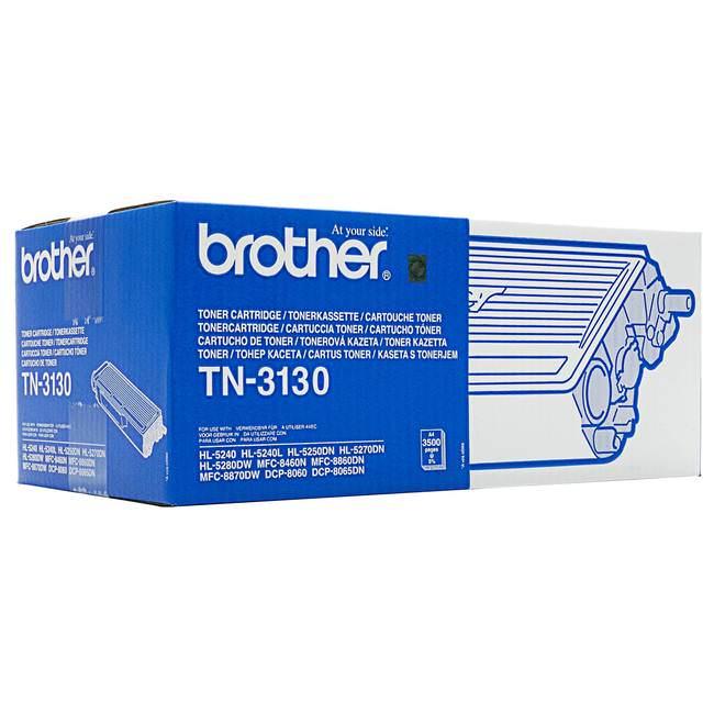 Original Brother Tn-3130 Black Toner Cartridge (tn3130)
