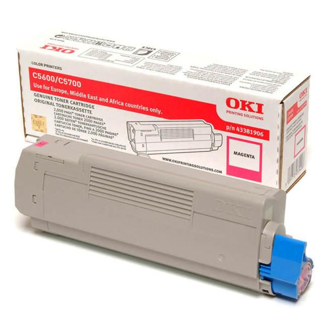 Original Oki 43381906 Magenta Toner Cartridge (43381906)