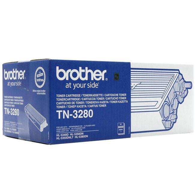 Original Brother Tn-3280 High Capacity Black Toner Cartridge (tn3280)