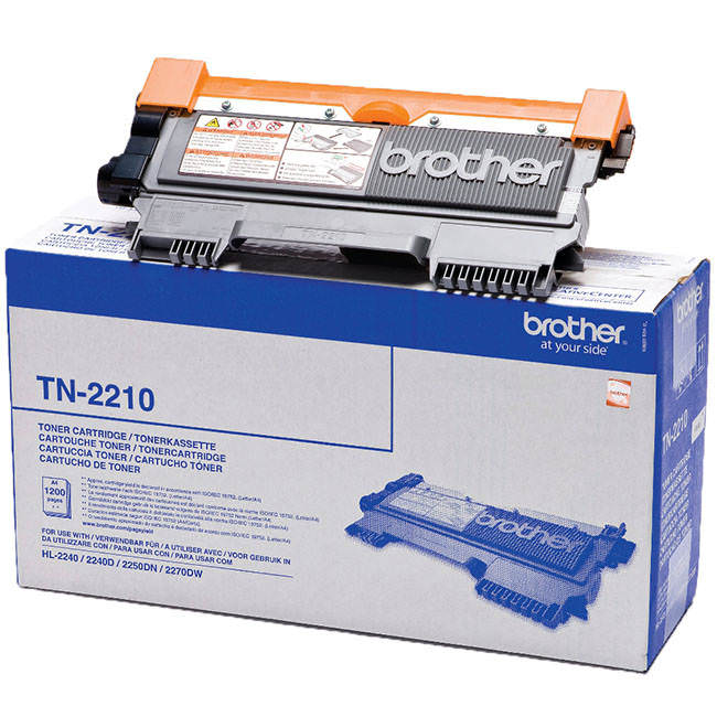 Original Brother Tn2210 Black Toner Cartridges (tn-2210)