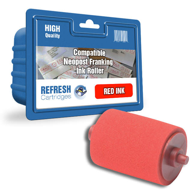 Compatible Neopost 300400 Red Ink Roller (35666)