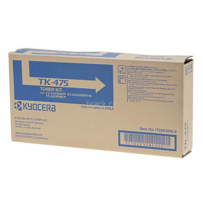 Original Black Kyocera Tk 475 Toner Cartridges
