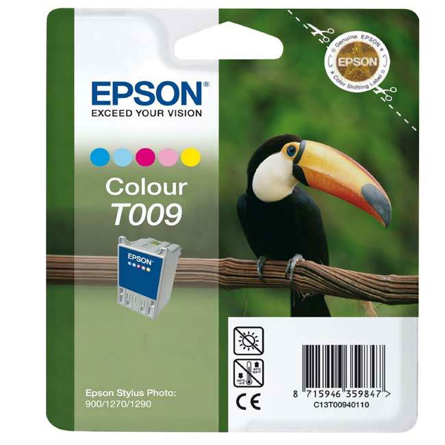 Original Epson T009 Colour Ink Cartridge (c13t0094110)