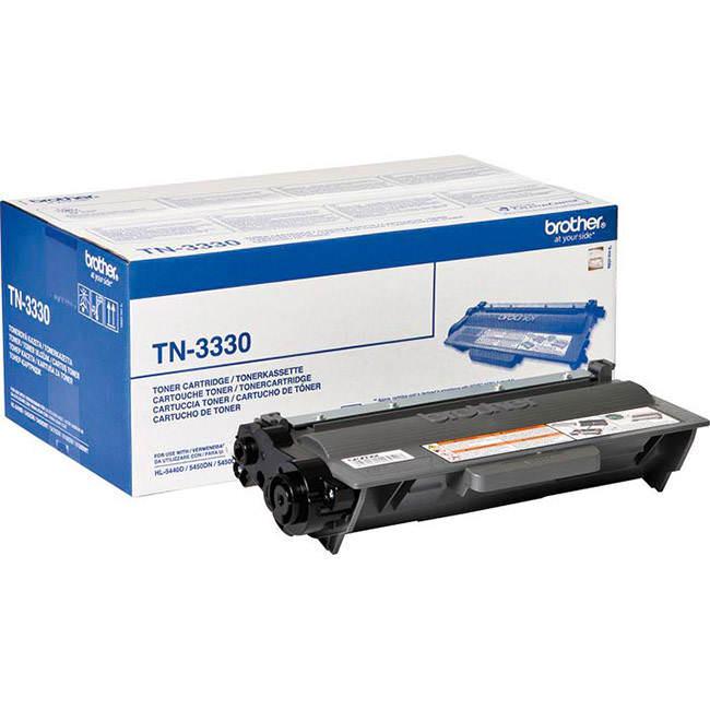 Original Brother Tn-3330 Black Toner Cartridge (tn3330)