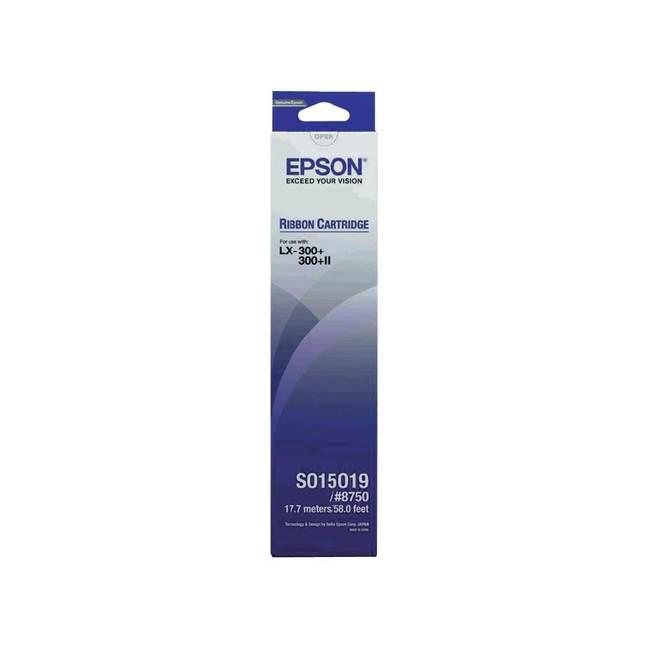 Original Epson S015019 Black Ink Ribbon Cartridge (c13s015019)