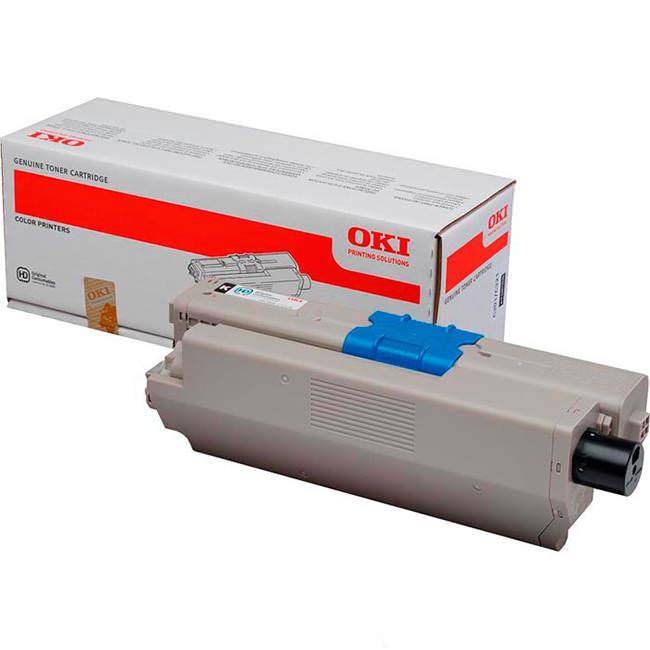 Original Oki 44973536 Black Toner Cartridge (44973536)