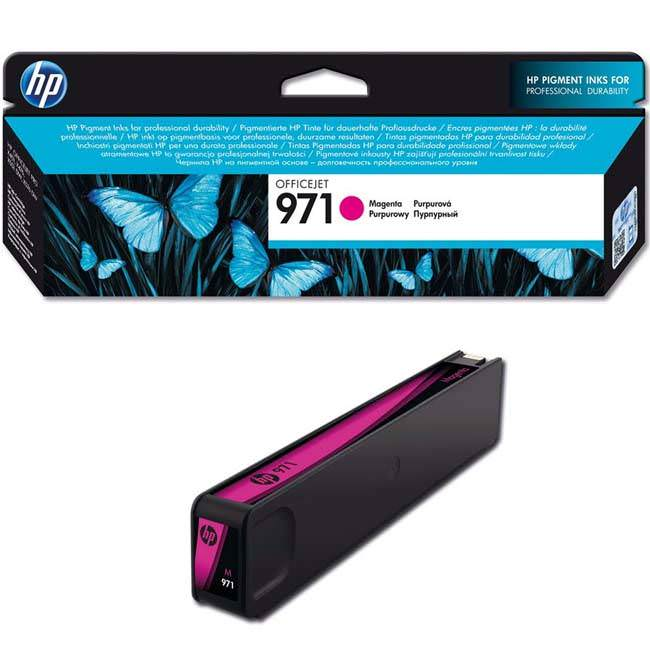 PageWide Cartridge HP 971 Magenta CN623AM