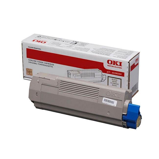 Original Oki 45396304 Black Toner Cartridge (45396304)