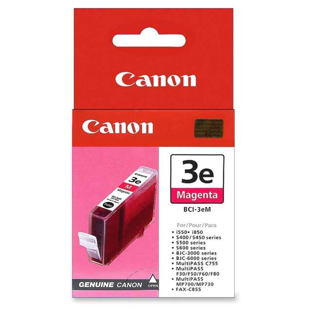 Original Canon Bci-3em Magenta Ink Cartridge (4481a002)
