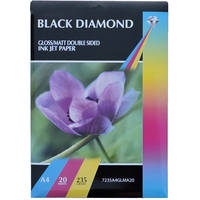 Black Diamond Double Sided Gloss / Matte A4 Ink Jet Photo Paper 235gsm - 20 Sheets Image