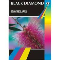 Black Diamond Gloss A4 Double Sided Professional Photo Paper 155gsm - 20 Sheets Image