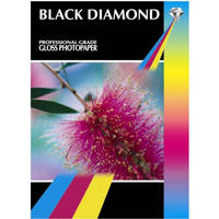 Black Diamond Gloss A4 Professional Grade Photopaper 210gsm - 50 Sheets Image