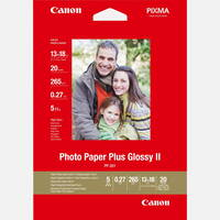 Original Canon PP-201 13x18cm Photo Paper Plus Glossy 260/275gsm 20 Sheets (2311B018) Image