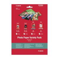 Original Canon VP-101 10x15cm and A4 Photo Paper Variety Pack 20 Sheets (0775b079) Image