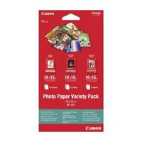Original Canon VP-101 10x15cm Photo Paper Variety Pack 20 Sheets (0775B078) Image