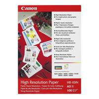 Original Canon HR-101N A3 High Resolution Micro-Porous Inkjet Paper 106gsm 100 Sheets (1033A005) Image
