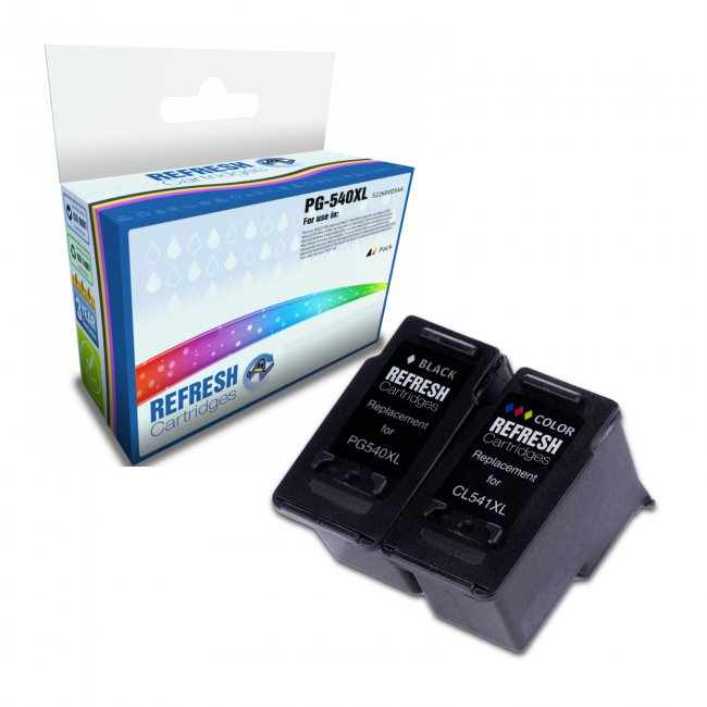 canon pg 540xl cl 541xl inkjet ink cartridge pack. Black Bedroom Furniture Sets. Home Design Ideas