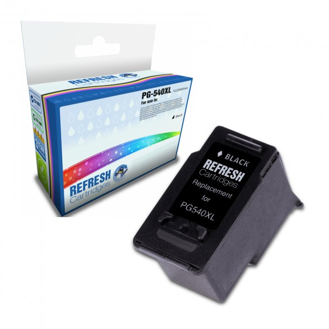 Remanufactured Canon PG-540XL High Capacity Black Ink Cartridge (5222B005AA)