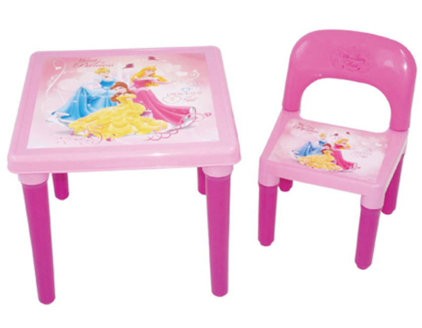 Strange Disney Princess My First Activity Table And Chair Set With Colouring Set Play Dohdarp Cdip016 Dailytribune Chair Design For Home Dailytribuneorg