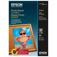 Original Epson A4 Glossy Photo Paper 200gsm - 20 Sheets (C13S042538) Image