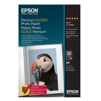 Original Epson A4 Premium Glossy Photo Paper 255gsm 20 Sheets (C13S041287) Image
