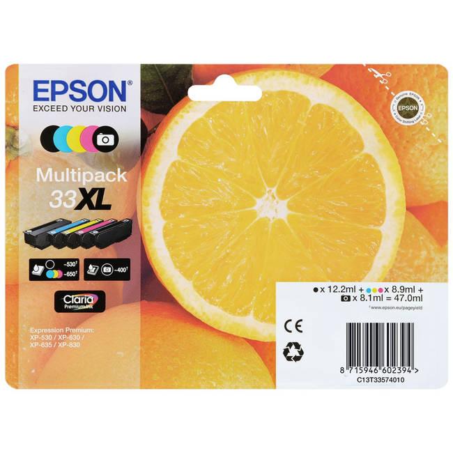 epson t3357 original ink cartridge multipack. Black Bedroom Furniture Sets. Home Design Ideas