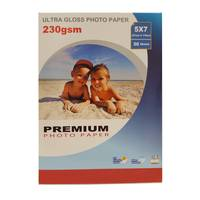 50 Sheets of Gloss Photo Paper 7x5