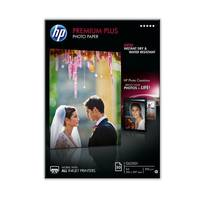 Original HP A4 Premium Plus Inkjet Glossy Photo Paper 300gsm - 50 Sheets (CR674A) Image