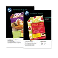 Original HP A4 Professional Inkjet Glossy Photo Paper 180gsm - 50 Sheets (C6818A) Image