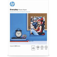 Original HP Everyday A4 Glossy Inkjet Photo Paper 200gsm - 100 Sheets (Q2510A) Image