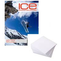 Ice Glossy Resin Coated A4 Inkjet Printer Photo Paper 260gsm - 25 Sheets Image