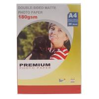 Radinks Matte A4 Double Sided Inkjet Photo Paper 180gsm - 20 Sheets Image