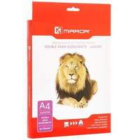 Mirror Double Sided Gloss/Matte A4 Inkjet Photo Paper 230gsm - 50 Sheets Image
