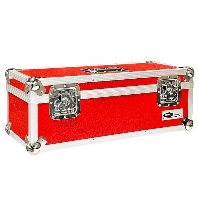 Neo 7 Inch Vinyl Record LP DJ Storage Case 300 Capacity - RedNeo  Zilla7LP300 Red