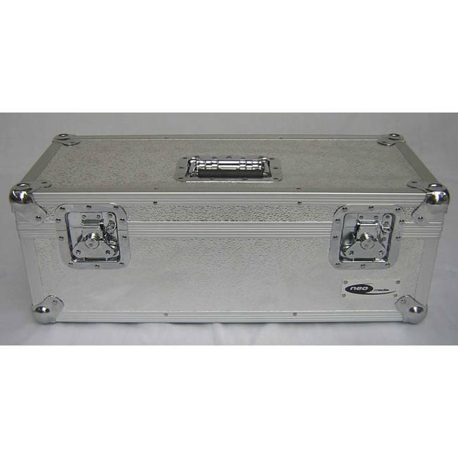 Neo 7 Inch Vinyl Record LP DJ Storage Case 300 Capacity - SilverNeo  Zilla7LP300 Silver