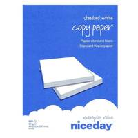 One Ream (500 Sheets) of Niceday A4 Copier Paper (80gsm) Image