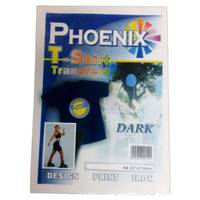 Phoenix Iron On A4 T-Shirt Transfer Paper for Dark T-Shirts - 5 Sheets Image